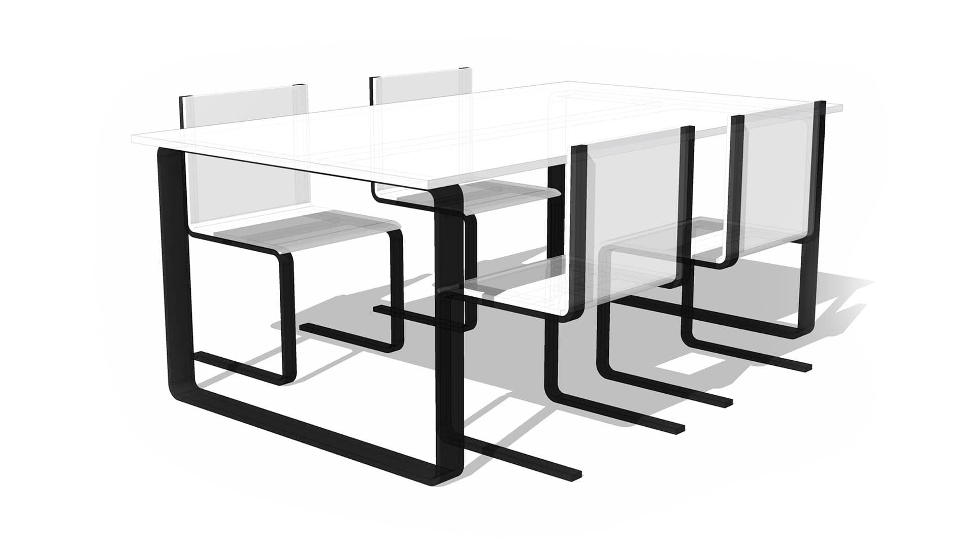 Ljuddämpande bord