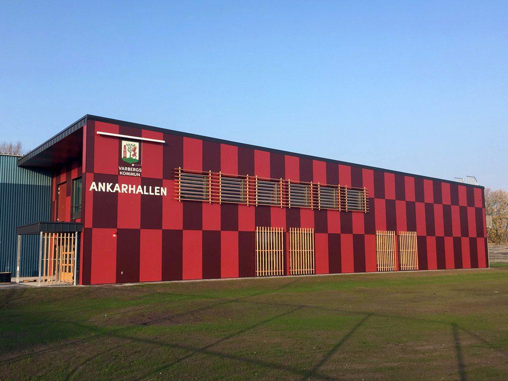 LamiFacade fasadskivor Ankarhallen Varberg