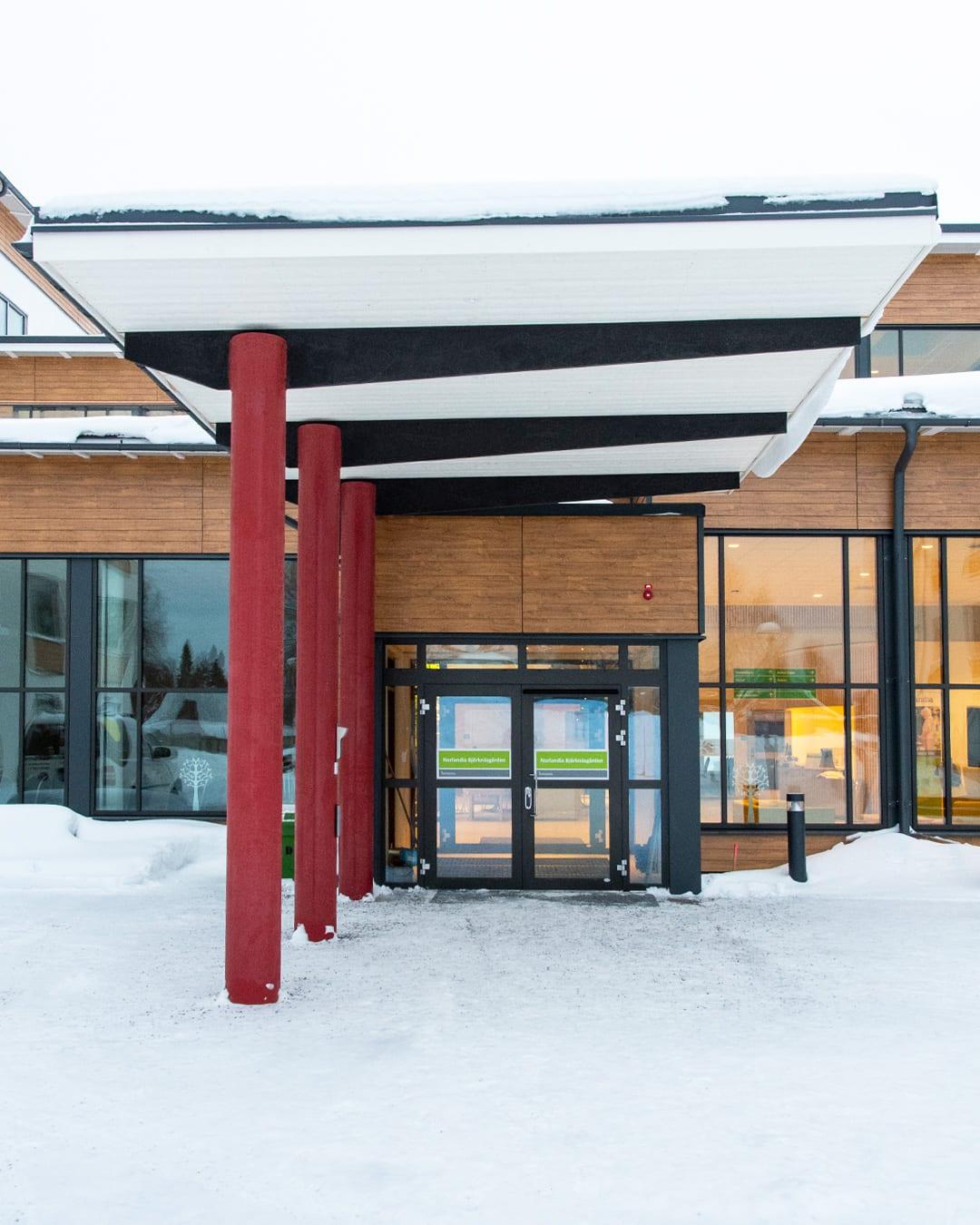 Lamiroc fjällpanel på Norlandia Björknäsgården i Boden