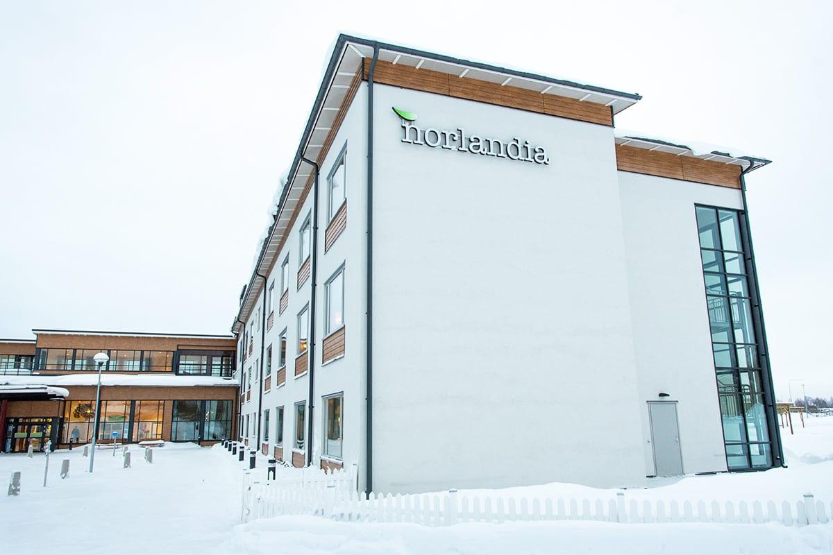 Norlandia Björknäsgården älderboende i Boden