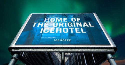 LamiGraphiq LamiCompact Skyltar Lamiroc Icehotel