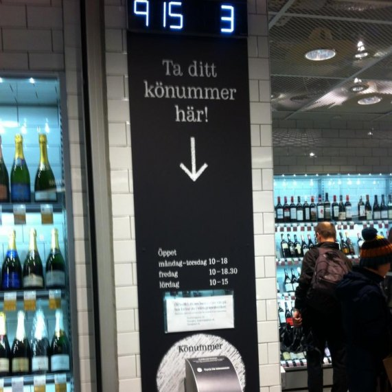 LamiGraphiq LamiCompact Lamiroc skyltar systembolaget Stockholm