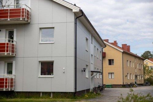 Fasadskiva, Fasadlaminat LamiFacade, Lamiroc, Kungsvägen.